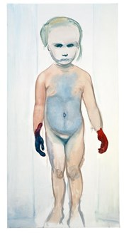 """The painter"" Marlene Dumas 1994"